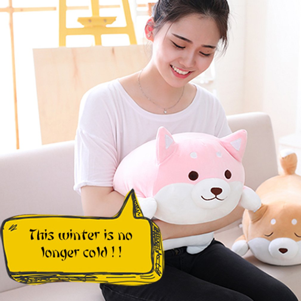 40cm Cute Fat Shiba Inu Dog Plush Toy Stuffed Soft Kawaii Animal Cartoon Pillow Lovely Gift for Kids Baby Children Stuffed Plush  - buy with discount