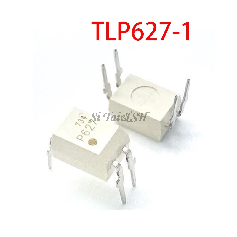 10PCS TLP627-1 DIP4 TLP627 DIP P627 DIP-4 New And Original IC