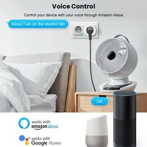 Image 5 - Умная розетка AVATTO, беспроводная вилка 16 А, разъем EU, подсветка RGB, счетчик потребляемой мощности, Wi Fi, Google Home, голосовое управление Alexa