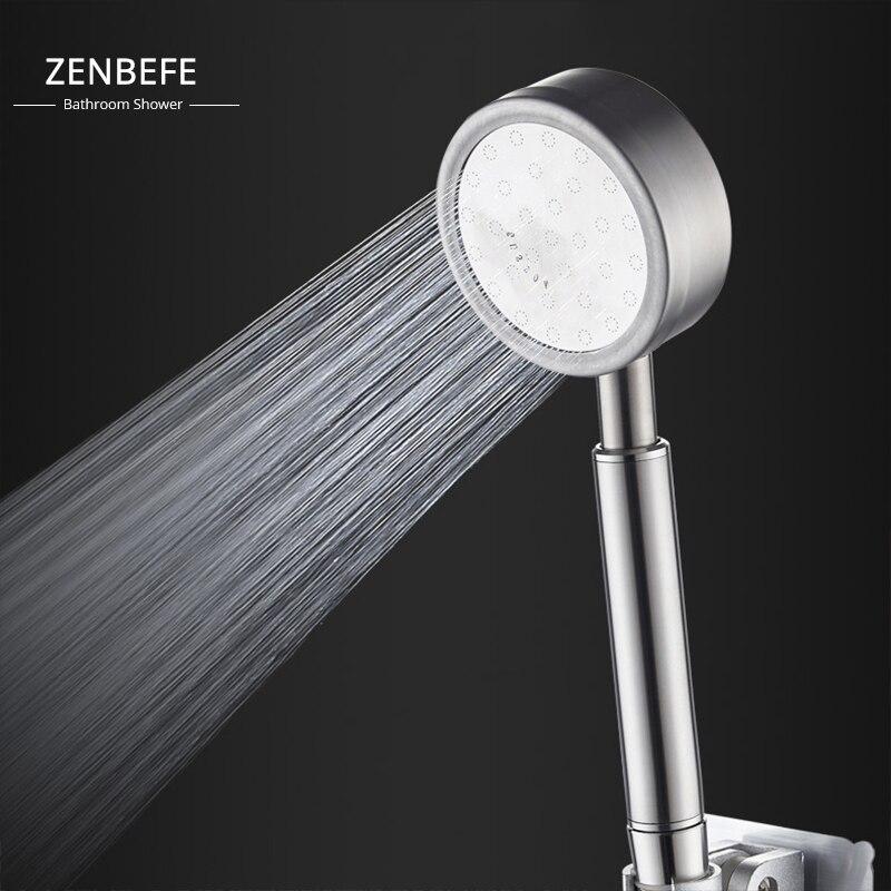 ZENBEFE 304 edelstahl dusche kopf druck bad dusche dusche einzigen kopf dusche druck bad dusche kopf