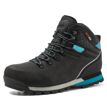 Waterproof outdoor shoes Size 40-47 Fashion Ankle men boots Autumn winter Boots Comfortable men Shoes botas zapatos de hombre