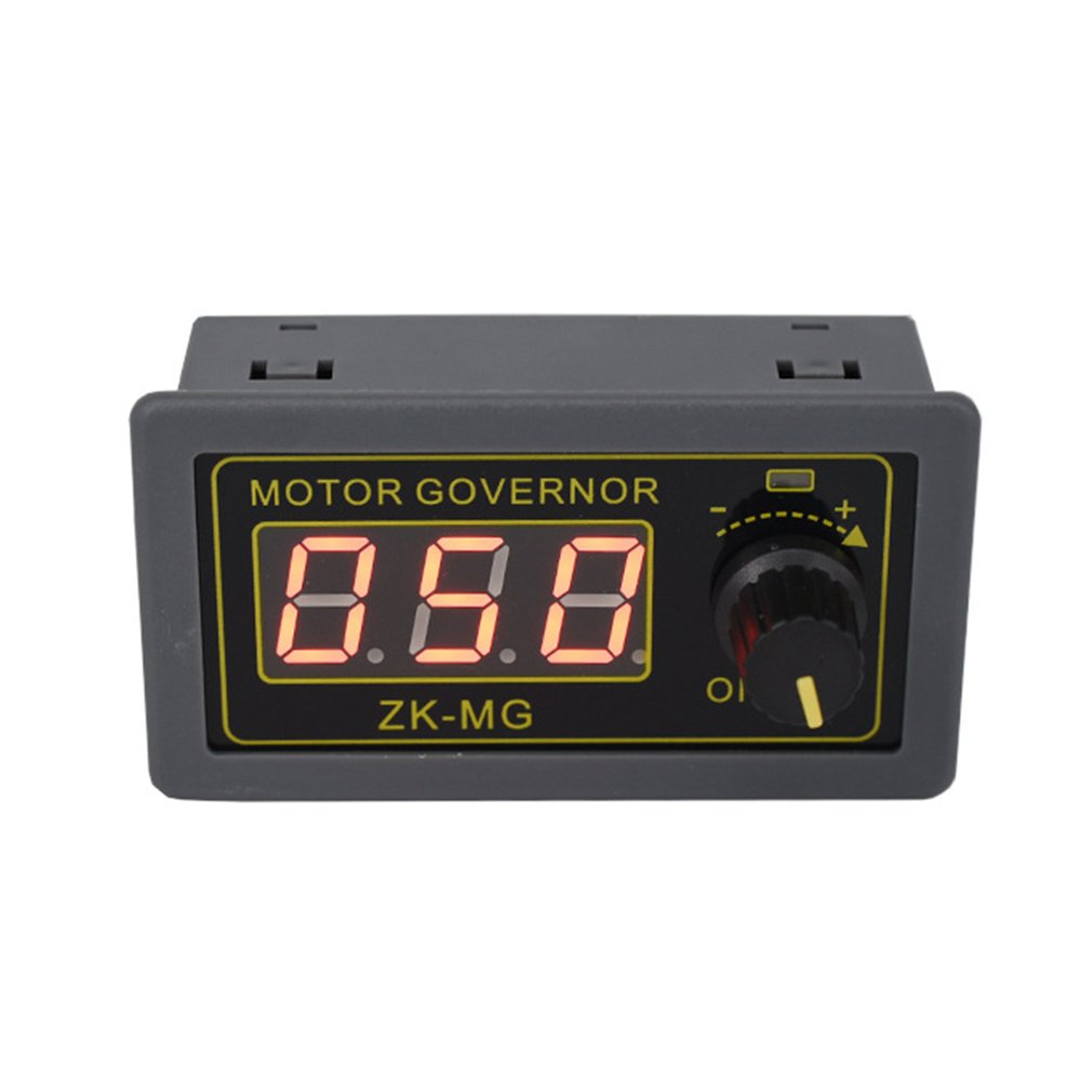 DC 5-30V 12V 24V 5A DC Motor Controller PWM Adjustable Speed Digital Display Encoder Duty Ratio Frequency MAX 15A ZK-MG