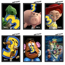 Toy Story 3 Movie Home Decorative Painting White Kraft Paper Poster 42X30cm
