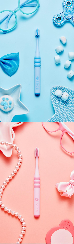para crianças escova de dentes dr. BEI