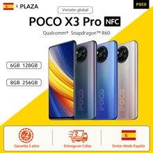 Smartphone POCO X3 Pro, première en stockage】, Version globale, NFC, Snapdragon 860, écran 6.67 pouces, 120Hz, DotDisplay, 5160 mAh, charge 33w