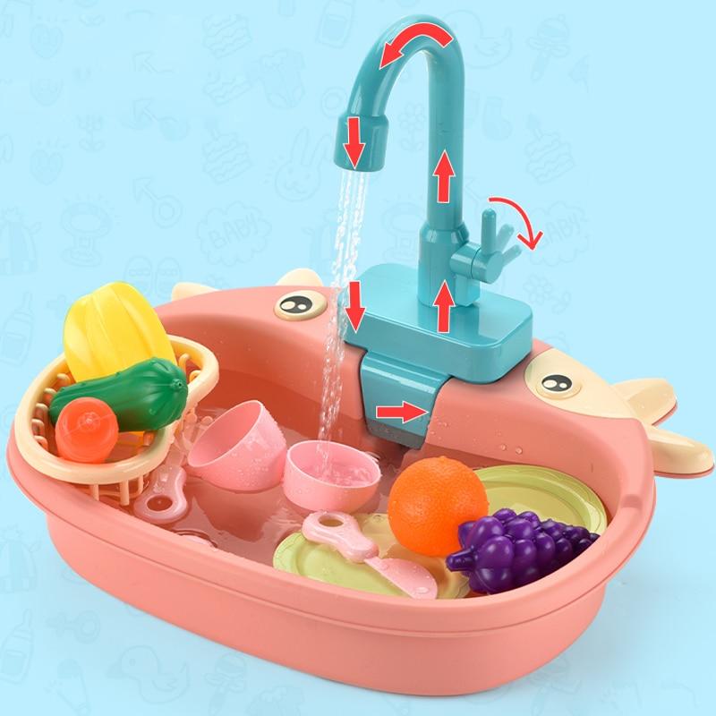 מטבח לילדים עם מים זורמים 3