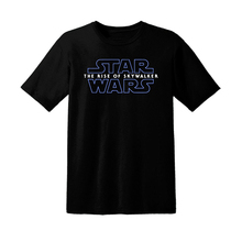 Star Wars 9 IX The Rise of Skywalker Poster Lego Vintage serie negra camiseta hombres mujeres camiseta nueva divertida algodón