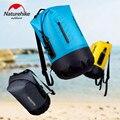 Naturehike Large Capacity Waterproof Bag Dry Bag 20/30/40L Storage Bag Wet-Dry Seperation Swimming Bag Ultralight Drift Bag