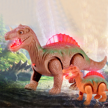 Light Up Luminous Dinosaur Electronic Walking Robot Dinosaur