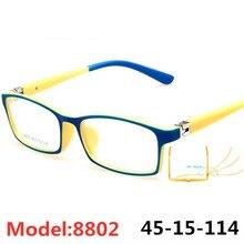 Детские милые оптические очки в оправе с рисунком персонажа, украшения для вечеринки на день рождения, Fantasia Infantil TR90, супер-светильник