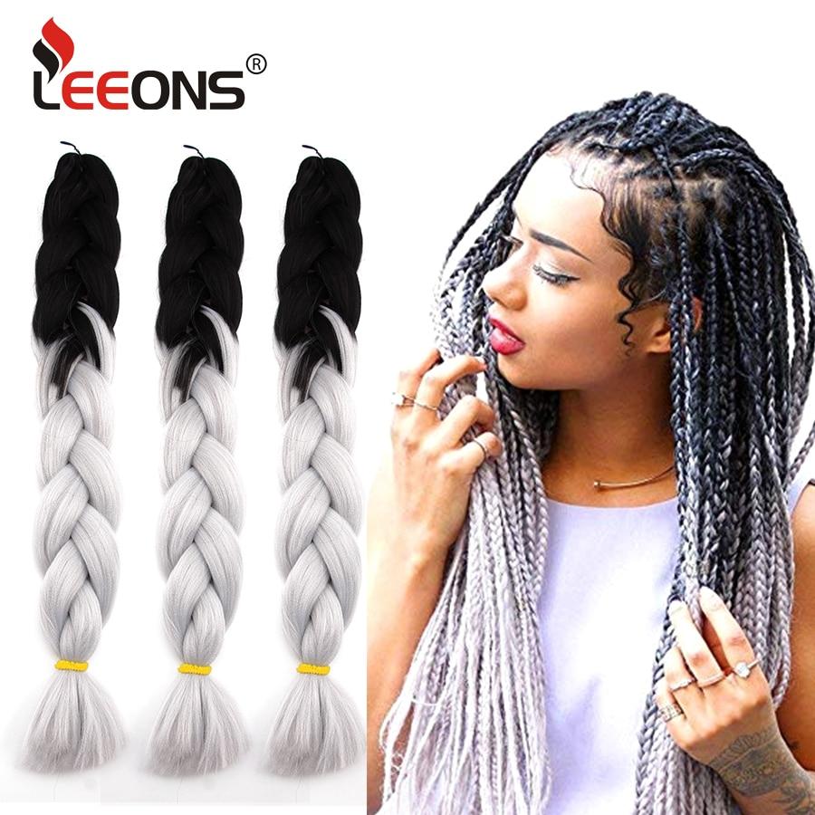 Leeons New Jumbo Braid Hair Hair Extension 24