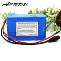 AERDU 6S4P 24V 10Ah 25 2 V литий-ионная аккумуляторная батарея литий-полимерные батареи для велосипед с электромотором  фара для электровелосипеда в с...