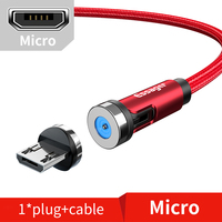 Red Micro Cable