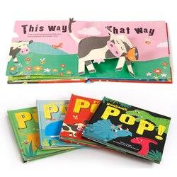 Для детей 2-6 лет, Детская обучающая книга, Когнитивная, Антония, не плохой, стерео Книга в твердом переплете книга на английском языке с карти...
