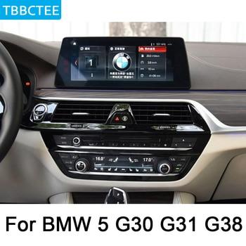 Pour BMW 5 G30 G31 G38 2017 ~ 2019 EVO lecteur multimédia Android voiture DVD radio GPS Navigation carte DSP stéréo HD écran WiFi BT IPS