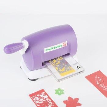 Troqueladora troqueladora para álbum de recortes troqueladora de papel troqueladora para el hogar DIY herramienta de grabado
