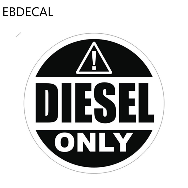 Ebdecal Diesel Only Vinyl Decal For Auto Car Bumper Window Wall Decal Sticker Decals Diy Decor Ct6852 Car Stickers Aliexpress