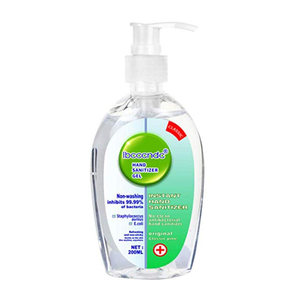 Gel Hand Sanitizer 75% Alcohol Universal Disinfectant Hand Wash Gel Antibacterial Hand Sanitizer 1 Piece 50/200ML