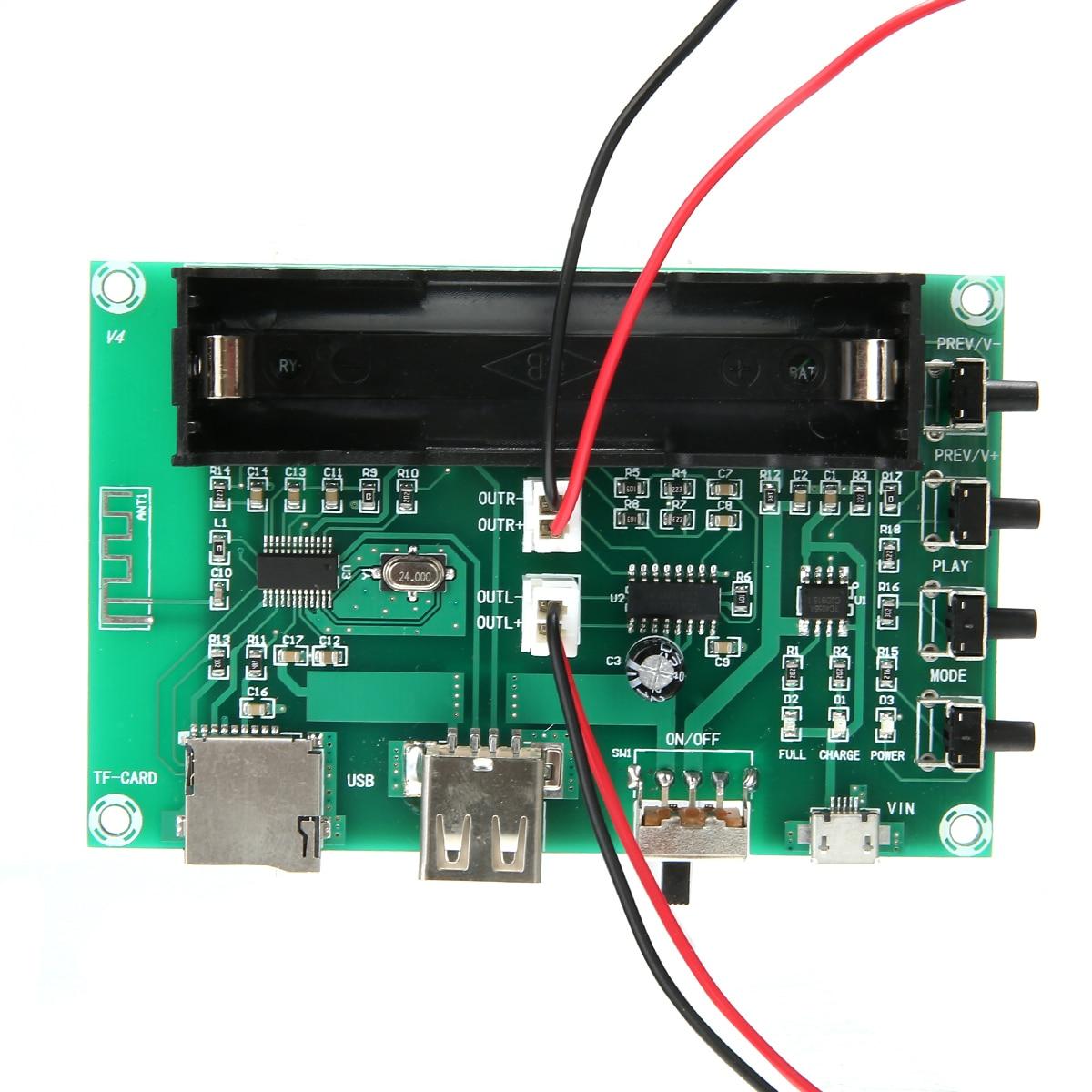 PAM8403 Speaker Digital bluetooth AMP Boards XH A150 2 Channel Stereo Speaker Power Amplifier Board 5V 5W+5W For Audio-in Amplifier from Consumer Electronics