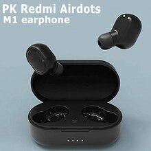 TWS M1 Wireless Bluetooth Headsets VS Redmi Airdots Earbuds Wireless Earphones w