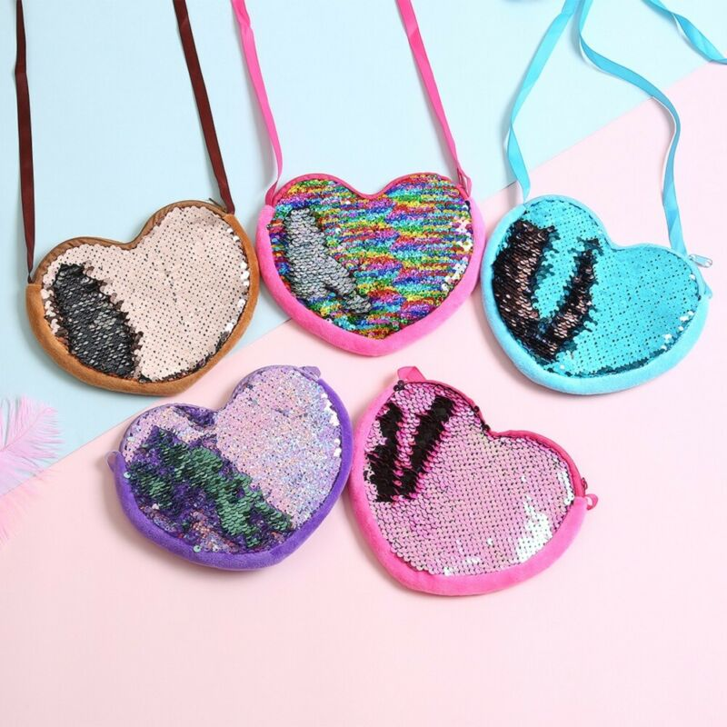 Sequins Coin Purse for Kid Baby Girl Wallet Bags Money Backpacks