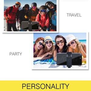 Image 5 - 3 in 1 무선 블루투스 selfie 스틱 접이식 아이폰 화웨이 삼성 미니 삼각대 확장 가능한 모노 포드 원격 제어