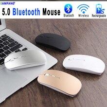 5.0 bezprzewodowa mysz Bluetooth dla Apple Macbook Air Xiaomi Pro mysz dla Huawei Matebook Laptop Notebook Tablet iPad