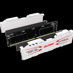 Image 4 - Hàng Mới Về Gloway LOẠI một loạt Trắng Tản nhiệt Ram DDR4 8GB 16GB 2400Mhz 2666MHz cho máy tính để bàn với hiệu suất cao