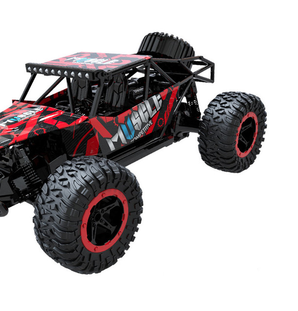 RC Car 2.4G Remote Control Off-road Vehicle Remote Control Cars Climb Buggy Trucks Boys Toys Rechargeable 1:16 1