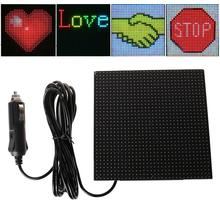 Full color wireless bluetooth App control car LED Display Screen Scrolling LED Sign,Driving instruction,Picture GIF Light