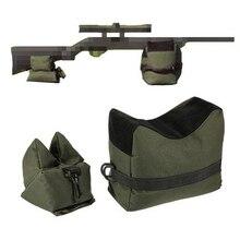 Передняя и задняя Сумка винтовка Поддержка песком без песка Военная снайперская стрельба мишень стенд принадлежности для охотничьего ружья