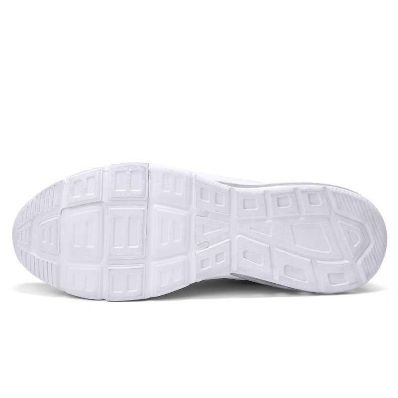 2019 Baru Fashion Sepatu Tenis untuk Pria AIR Bantal Kulit Putih Hitam Abu-abu Sepatu Gym Olahraga Sepatu Tenis Pria Warna Keranjang homme