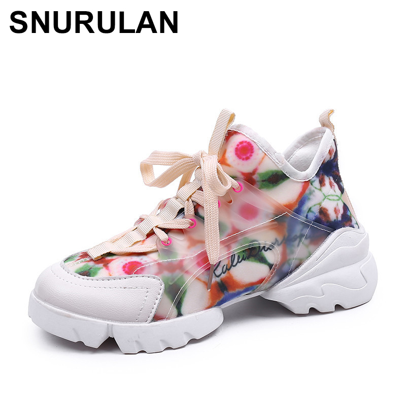 SNURULAN Breathable White Women Flat Shoes With PU Faux Leather Lacing; Novelty Spring-fall Season; Women's Fashion Shoes