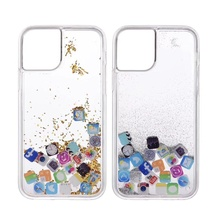 Liquid Glitter Clear Phone Shell For iPhone 11Pro max 6 6S 7 8 Plus X XS XR MAX Cases Quicksand Cover Cute APP icon Case Capa quicksand capinha case for iphone 7 8 6s plus makeup cosmetics dynamic liquid hard back cover for iphone x xr xs max capa ipone