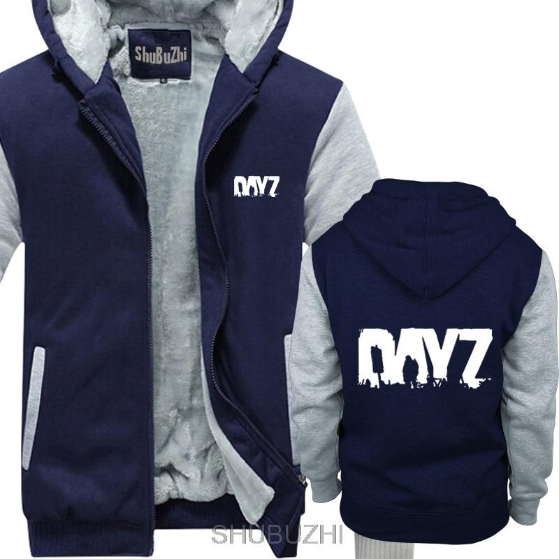 Image 2 - men long sleeve thick hoodies Fabulous thick hoodies Men GAME  DAYZ Printed long sleeved Birthday Gifts euro size sbz4028Hoodies