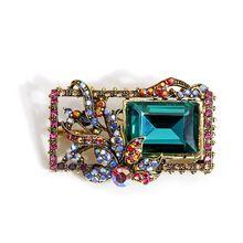 Женские винтажные Броши cindy xiang с кристаллами квадратная