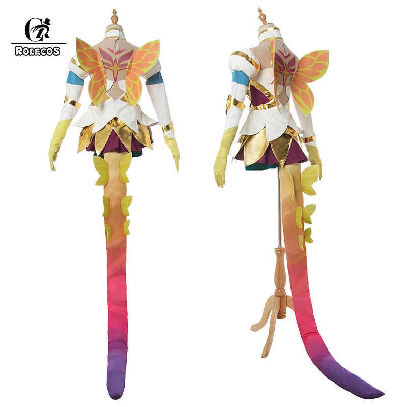 Rolecos Game Lol Cosplay Costume Star Guardian Neeko Prestige Edition Cosplay Suit Women Sexy Dress Halloween Uniform With Tail Aliexpress