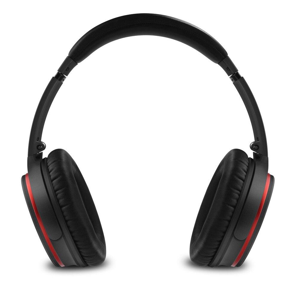 August EP735 Aktive Noise Cancelling Bluetooth Kopfhörer Drahtlose mit Mic Bluetooth 4,1 Stereo ANC Headset für Luft Reise aptX