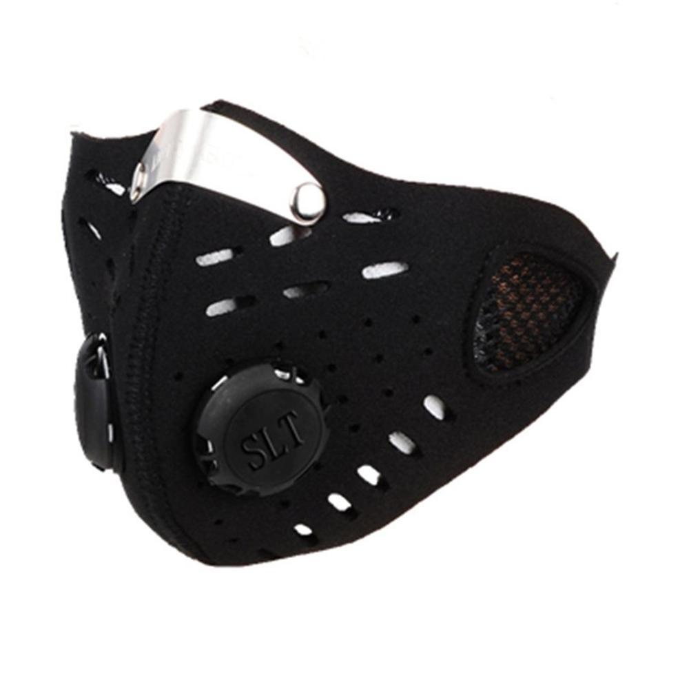 1pc Cycling Dust Mesh Mask Activated Carbon Filter Dust Outdoor Mask Anti fog Mask Face Mouth Innrech Market.com