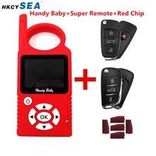 JMD удобный детский ручной автомобильный ключ копир автоматический ключ программист V9.0.5 для 4D/46/48/G/KING/красный чип с супер пультом дистанционного управления и G