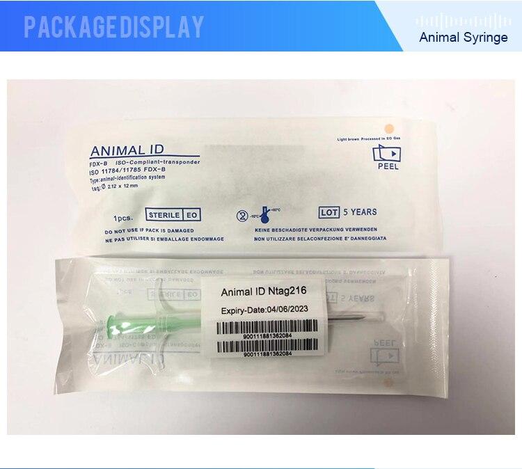 2x12mm NFC microchip syringe (20)