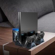 PS4 Sottile PRO Console Ventola di Raffreddamento Del Basamento PS 4 Joystick Stazione di Ricarica per Playstation 4 Sottile Pro Giochi