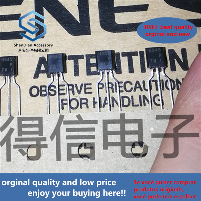 50pcs 100% Orginal New H945P H 945 Triode Taping TO-92 Real Photo