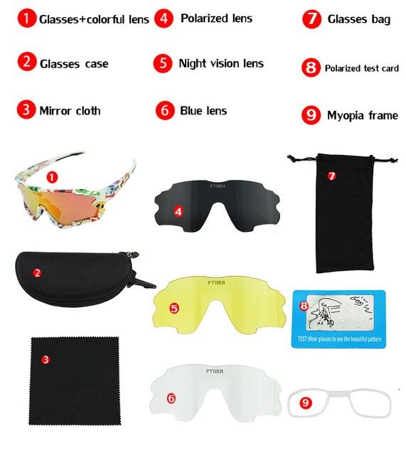 4 lente polarizada esportes ao ar livre da bicicleta óculos de sol gafas mtb ciclismo óculos peter homem 6