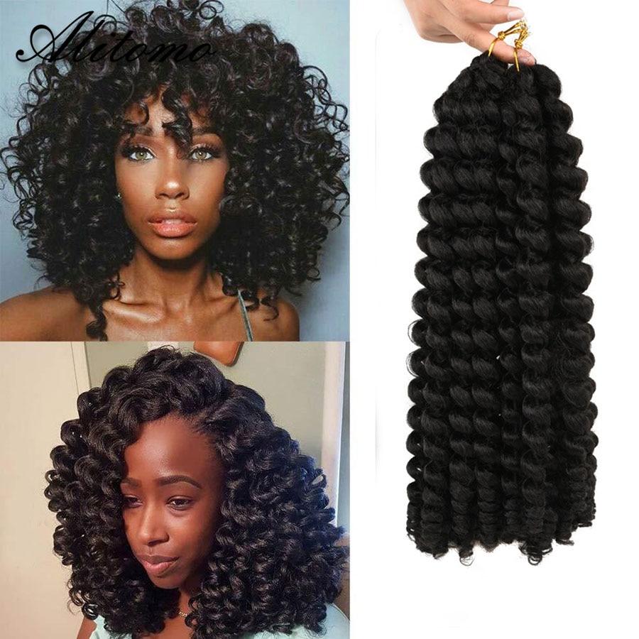Cabelo curto tranças tranças tranças de crochê tranças tranças preto mulher tranças sintéticas 20 raízes/pacote