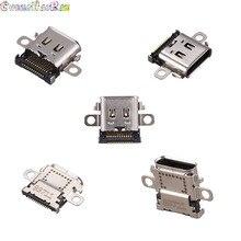 10 Uds Original nuevo USB tipo c puerto de toma de carga conector de alimentación para NS Nintendo switch consola
