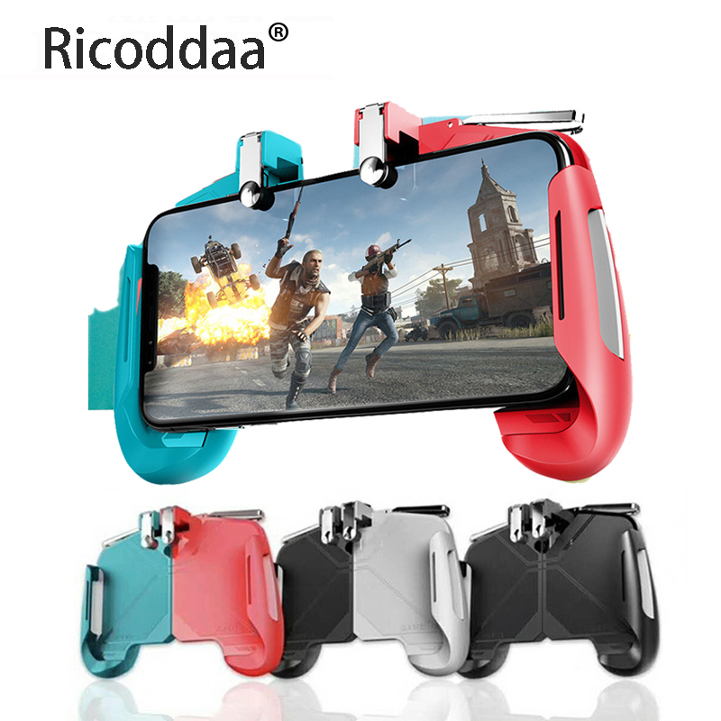 Pubg Game Gamepad For Mobile Phone Game Controller l1r1 <font><b>Shooter</b></font> Trigger Fire Button For IPhone For Free Fire image