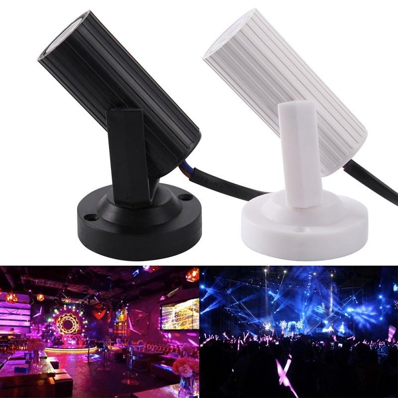 Mini RGB LED Stage Light 1W LED Beam Spotlight Effect Club Disco DJ Bar KTV Party Moving Head Stage Lighting AC110-220V