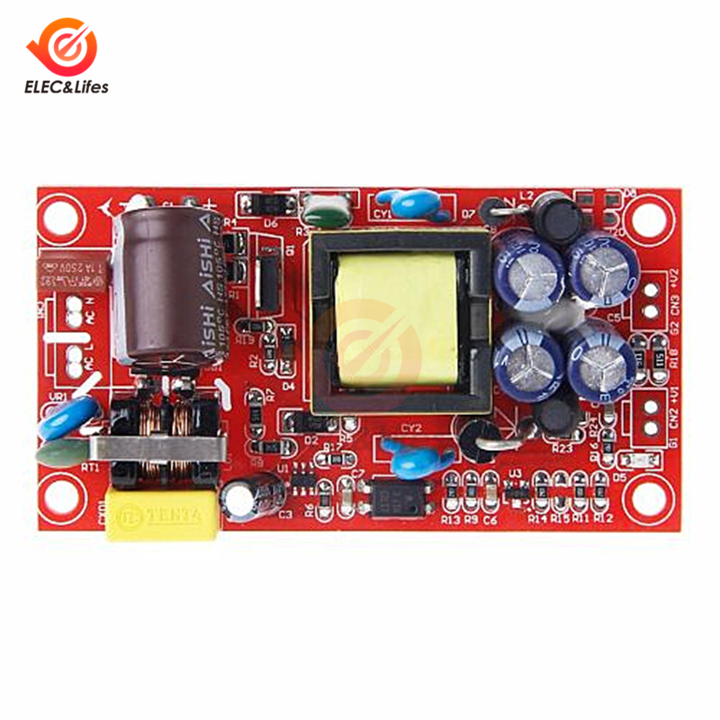 12V 1A/5V 1A Fully <font><b>Isolated</b></font> Switching <font><b>Power</b></font> Supply <font><b>Module</b></font> AC-DC Converter <font><b>Module</b></font> 85-265V To 12V 5V Dual voltage <font><b>isolated</b></font> output image