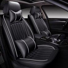 Высокое качество кожаный чехол для сиденья автомобиля volkswagen polo 6r passat B5 B6 golf 4 touran tiguan jettacar все модели автомобильные аксессуары